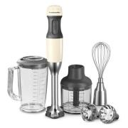 KitchenAid stavblender - Classic - Creme