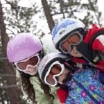 Skibriller fra Baby Banz - Ski Banz Arctic White