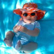 Solbrille - Baby Banz - Adventure - Pink