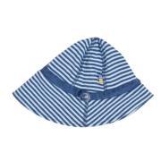 Sommerhat fra Joha - Blå striber (Økologisk)