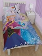 Disney Frost / Frozen Anna og Elsa 2 i 1 Sengetøj