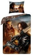 Warcraft Sengetøj 2i1 Design - 100 Procent Bomuld