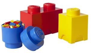 Lego opbevarings sæt 3 stk.