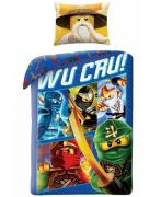 Lego Ninjago Wu Cru 2i1 Sengetøj (100 procent bomuld!)