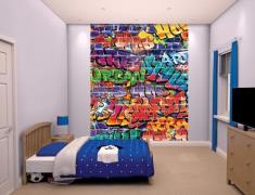 Graffiti Tapet