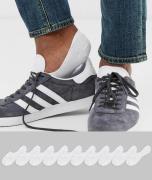 Sneakerssokker fa ASOS DESIGN 10-pak-Hvid