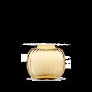 Primula Oval Vase Amber H12,5 cm