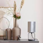Schöner Wohnen Grace bordlampe, sølv