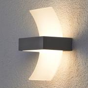 """Buet udendørs LED væglampe """"Skadi"""""""