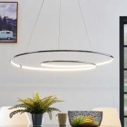 Lindby Lucy LED-hængelampe, 90cm, krom