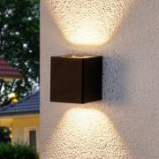 Lukas - LED-udendørsvæglampe med dekorative filtre