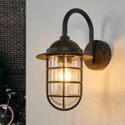 Nostalgisk udendørs væglampe Naila