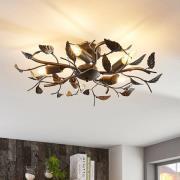 Dekorativ loftlampe Yos, bladoptik