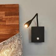 Torin - LED-væglampe med fleksarm, dæmpbar