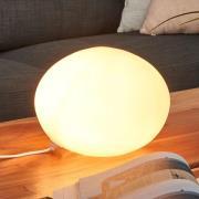 Glas Oval den dekorative bordlampe, Ø 24 cm