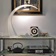 Taj Mini - LED skrivebordlampe, hvid