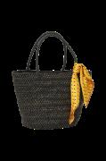 Taske Straw Scarf Bag