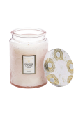 Panjore Lychee - Large Glass Jar Candle 100 timer 455 g