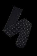 Strømpebuks med glitrende prikker