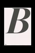 Plakat B-ABC 70x100 cm