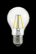 Pære E27 LED 3-trins dæmpbar Normal klar 0,4-7 W
