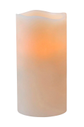 Vokslys LED 7,5x15 cm