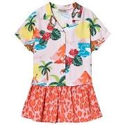 Kenzo Light Pink Hawaii Dress 12 years
