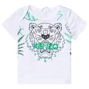 Kenzo White Jungle Tiger Print Tee 3 months