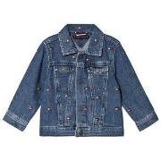Tommy Hilfiger Blue All Over Flag Logo Denim Jacket 92 (18-24 months)