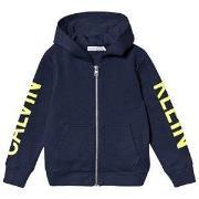 Calvin Klein Jeans Logo Hoodie Navy 4 years