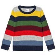 GAP Knitted Sweater Crazy Stripe XL (12-13 år)