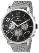 Tommy Hilfiger Keagan Herreur 1791292 Sort/Stål Ø44 mm