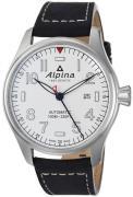 Alpina Startimer Herreur AL-525S4S6 Hvid/Læder Ø44 mm