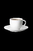 Soft Kaffekop med underkop GC, 28 cl
