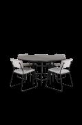 Spisegruppe Copenhagen med 4 spisebordsstole Kenth