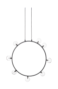 Loftlampe AIR 50