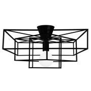 Globen Lighting-Cube Ceiling, Matt black