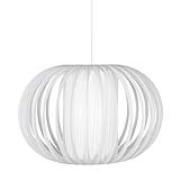 Globen Lighting-Plastband Pendant, White