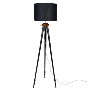Globen Lighting-Anastasia Gulvlampe, Sort
