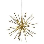 Star Trading-Firework Hanging Decoration 40 cm, Gold