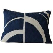 Mimou-Arches Cushion 30x50 cm, Dark blue