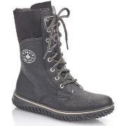 Vinterstøvler Rieker  Greece Wolfface Black Boots