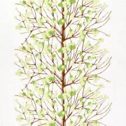 Lumimarja tekstil hvid/grøn/brun