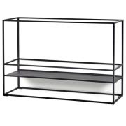 Display shelf 90 cm Sort