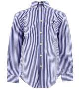Polo Ralph Lauren Skjorte - Blå/Hvidstribet