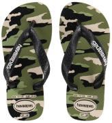 Havaianas Klipklapper - Beige m. Camouflage